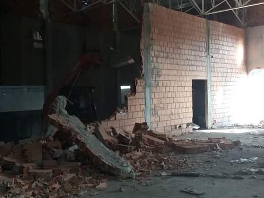 Demolição Pavilhão-Vila de Conde